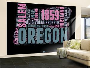Oregon Word Cloud 2 by NaxArt