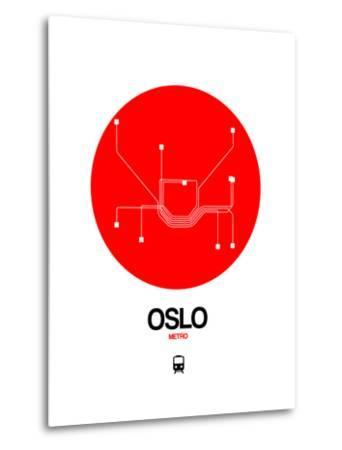 Oslo Red Subway Map