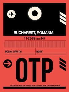 OTP Bucharest Luggage Tag I by NaxArt