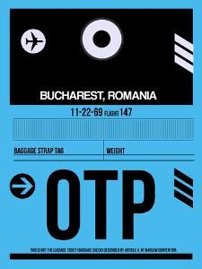 OTP Bucharest Luggage Tag II by NaxArt