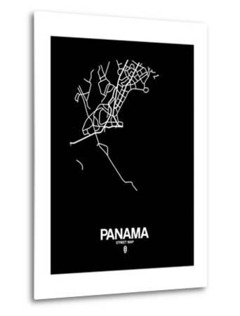 Panama Street Map Black