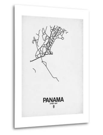 Panama Street Map White