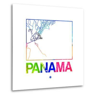 Panama Watercolor Street Map