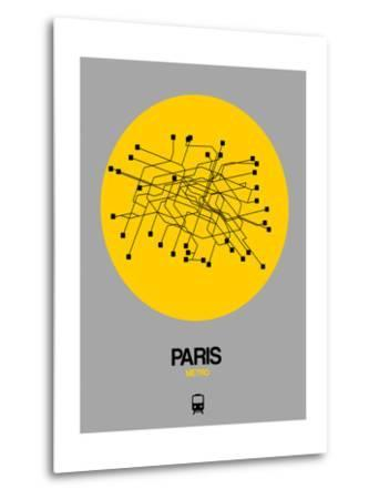 Paris Yellow Subway Map