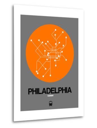 Philadelphia Orange Subway Map