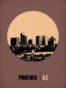 Phoenix Circle Poster 2 by NaxArt