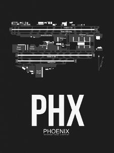 PHX Phoenix Airport Black by NaxArt