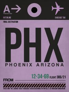 PHX Phoenix Luggage Tag 1 by NaxArt
