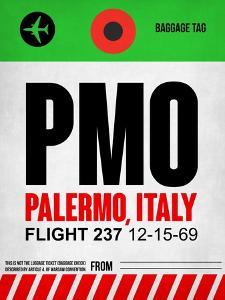 PMO Palermo Luggage Tag I by NaxArt
