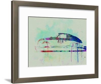 Porsche 356 Watercolor
