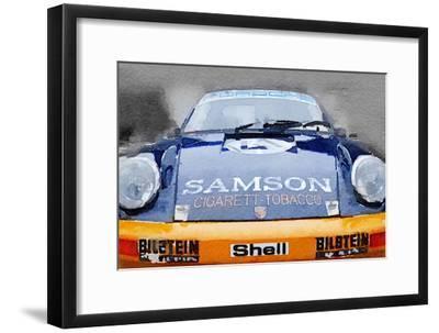Porsche 911 Front End Watercolor