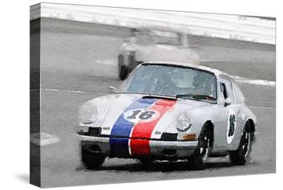 Porsche 911 Race in Monterey Watercolor