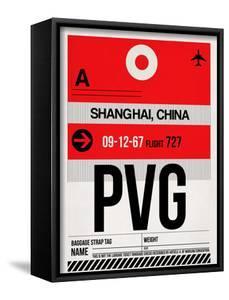 PVG Shanghai Luggage Tag I by NaxArt