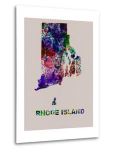 Rhode Island Color Splatter Map by NaxArt