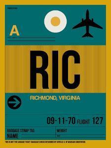 RIC Richmond Luggage Tag I by NaxArt