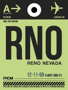 RNO Reno Luggage Tag I by NaxArt