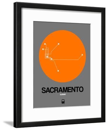 Sacramento Orange Subway Map