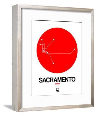 Sacramento Red Subway Map