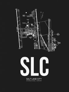 Salt Lake City Airport Black by NaxArt