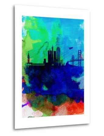 San Francisco Watercolor Skyline 2