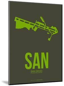 San San Diego Poster 2 by NaxArt