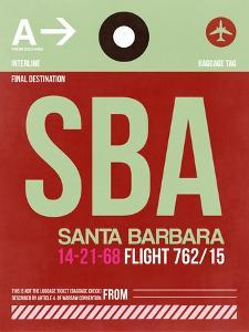 SBA Santa Barbara Luggage Tag II by NaxArt
