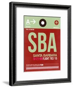 SBA Santa Barbara Luggage Tag II by NaxArt
