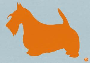 Scottish Terrier Orange by NaxArt