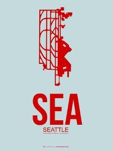 Sea Seattle Poster 1 by NaxArt