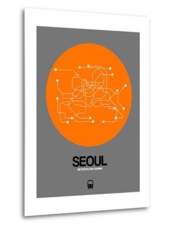Seoul Orange Subway Map