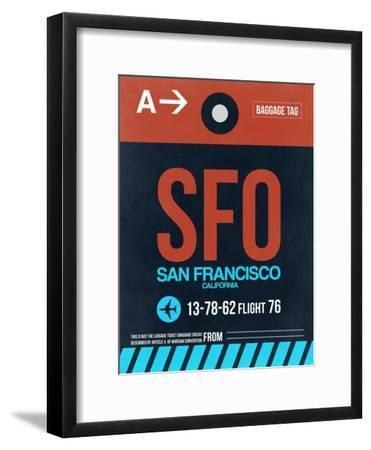 SFO San Francisco Luggage Tag 2