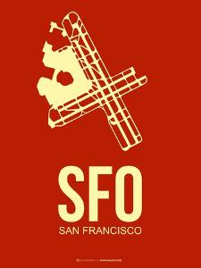 Sfo San Francisco Poster 2 by NaxArt