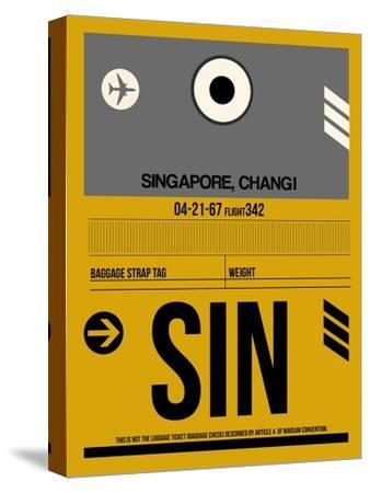 SIN Singapore Luggage Tag I