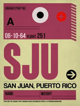 SJU San Juan Luggage Tag II