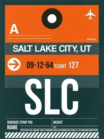 SLC Salt Lake City Luggage Tag II by NaxArt