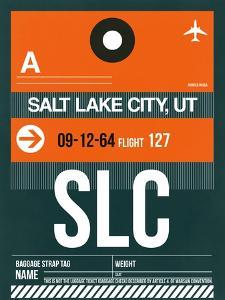 SLC Salt Lake City Luggage Tag II by NaxArt