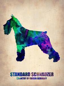 Standard Schnauzer Poster by NaxArt