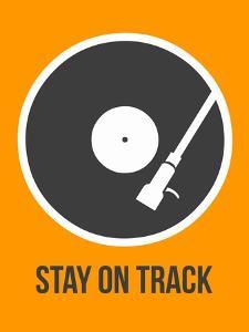 Stay on Track Vinyl 1 by NaxArt