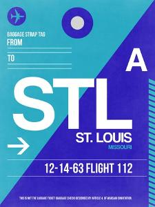 STL St. Louis Luggage Tag II by NaxArt