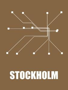 Stockholm Subway Map II by NaxArt
