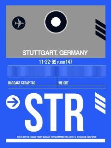 STR Stuttgart Luggage Tag II by NaxArt
