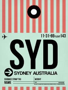 SYD Sydney Luggage Tag 1 by NaxArt