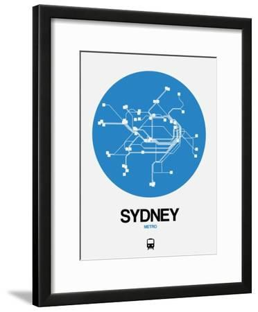 Sydney Blue Subway Map