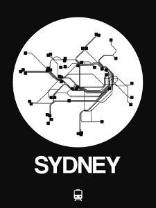 Sydney White Subway Map by NaxArt