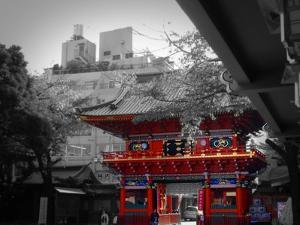 Temple In Tokyo by NaxArt