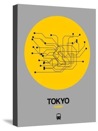 Tokyo Yellow Subway Map