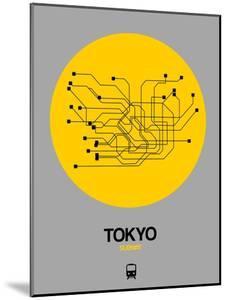 Tokyo Yellow Subway Map by NaxArt