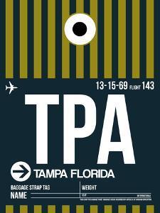 TPA Tampa Luggage Tag 2 by NaxArt