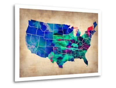 Usa Watercolor Map 3