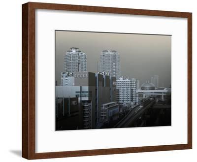 View Of Modern Tokyo